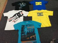Various range of name brand clothing and non name