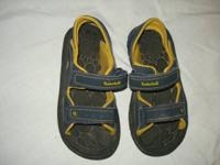 I have 2 pair of children summer sandals  Timberland