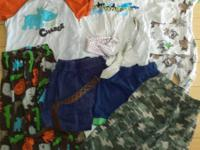 Lot of boys clothing in sizes 3/3T, 4/4T and one size 5