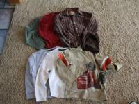 All items $2.00 each. 1st picture -Boys size 7 long