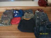 3 pairs shorts 4 tees 3 jeans 1 pj pants please call