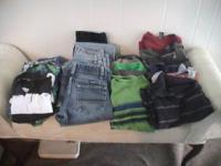 boys size 8 clothes    5 jeans    9 short sleeve shirts