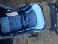 Like new little boys cosco blue stroller see pic  calls