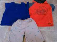 This is a Sm. Lot of boys toddler clothing size 5T.