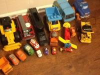 Big lot of children toys, purchase entirely or check