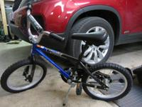 "Boys 16"" Bicycle in great condition was only used a"