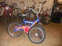 I have a boys 16 inch Pokamon bike for sale. The tiresa