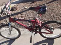 Nice boys bike, in good condition. Kept in garage area,