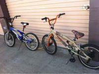 I have 2 boys BMX bikes $100 each call or text