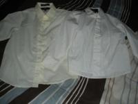 I HAVE 2 REALLY NICE BOYS DRESS SHIRTS THEY ARE SIZE 5