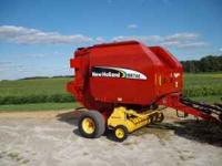 2006 model 4x5 bale with net wrap or twine has wide