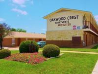 Visit us at www.OakwoodCrestApartments.com for more