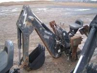 Bradco 609 Backhoe Attachment for Skid Steer, #8320,