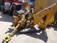 BRADCO BACKHOE MODEL 485 #105299 S/N: 278947 Unused