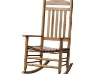 This rocker is a great addition to any front porch or