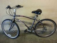 Braemar air 21 de bike bicycle 18 speed inside it is