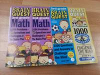 Brain Quest 3rd grade Math Deck 1 and 2  Brain quest
