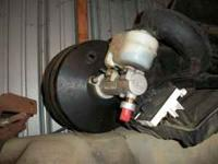 BRAKE BOOSTER WITH MASTER CYLINDER 2003 E250 FORD VAN