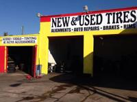 Brakes front or back $39.00.  all 18' tires set/140.00