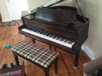 Brambach child grand piano complimentary to excellent