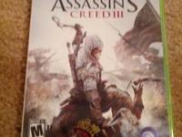 Hi, I am selling Assassin's creed 3 for xbox