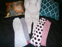 Great condition, adorable bundle of clothes!  No holes,