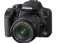 For sale brand new canon eos rebel xs dslr camera.