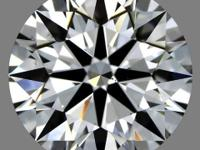 This Ideal-cut, G-color, and VS1-clarity diamond comes