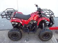 THESE ARE BRAND NEW 125CC YOUTH ATVS 4-WHEELERS 499.99.
