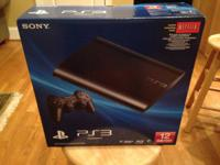 Brand new PS3 12GB console with controller in sealed