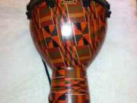 "This is a brand new 16"" x 21"" REMO African Colored"