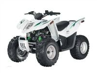 Brand New 2008 Arctic Cat DVX 50 Youth ATV - Black/Lime