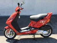 Brand New 2009 Hammerhead Shark 80T Go-Kart in Red.