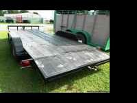 BRAND NEW 2011 18' Car Hauler w/2ft Dovetail -- Black,