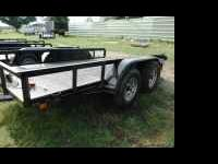 BRAND NEW 2011 16' Tandem Axle Utility Trailer -- Black