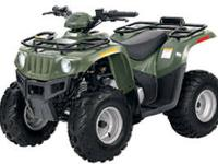 Brand New 2012 Arctic Cat 425i ATV - Green Please Call