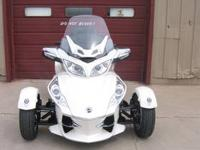 Hot for 2012 - and We Have 'em 2012 Can Am Spyder
