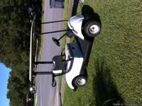 Brand New 2014 Yamaha Golf Cart.......Won it in a Golf