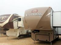 Great for full timers! This stunning new 2015 Cypress