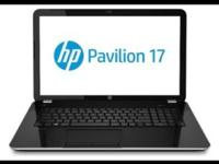 Selling a BRAND NEW 2015 HP PAVILION 17 WITH CORE i7