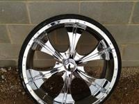 "BRAND NEW 24"" RIMS AND TIRES $1200  CABO 967 ON"
