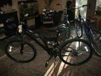 "BRAND NEW MOUNTAIN BIKE, 26"", 18 SPEED, SHOCK FORK,"