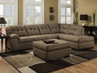 Brand new 2pc Sectional $798  In stock can be deliver
