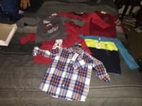 Brand New 2T-3T boy clothes for sale. If interested