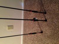 BRAND NEW!! 3 Abu Garcia Vendetta Spinning Rods. (2) 7'