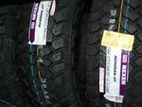 Brand new 31X10.50R-15 Nexen Mud Radials, 4 for 579.00