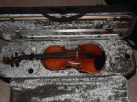 Of course, it is brand new 4/4 violin, never used, NO
