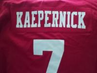 Got a 49ers nike original brand new colin kaepernick
