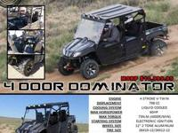 This American Re-Designed 800cc ODES UTV comes FULLY