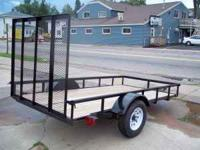 BREAND NEW UTILITY TRAILER!!!!!!!!!!!!!! WOOD FLOOR
